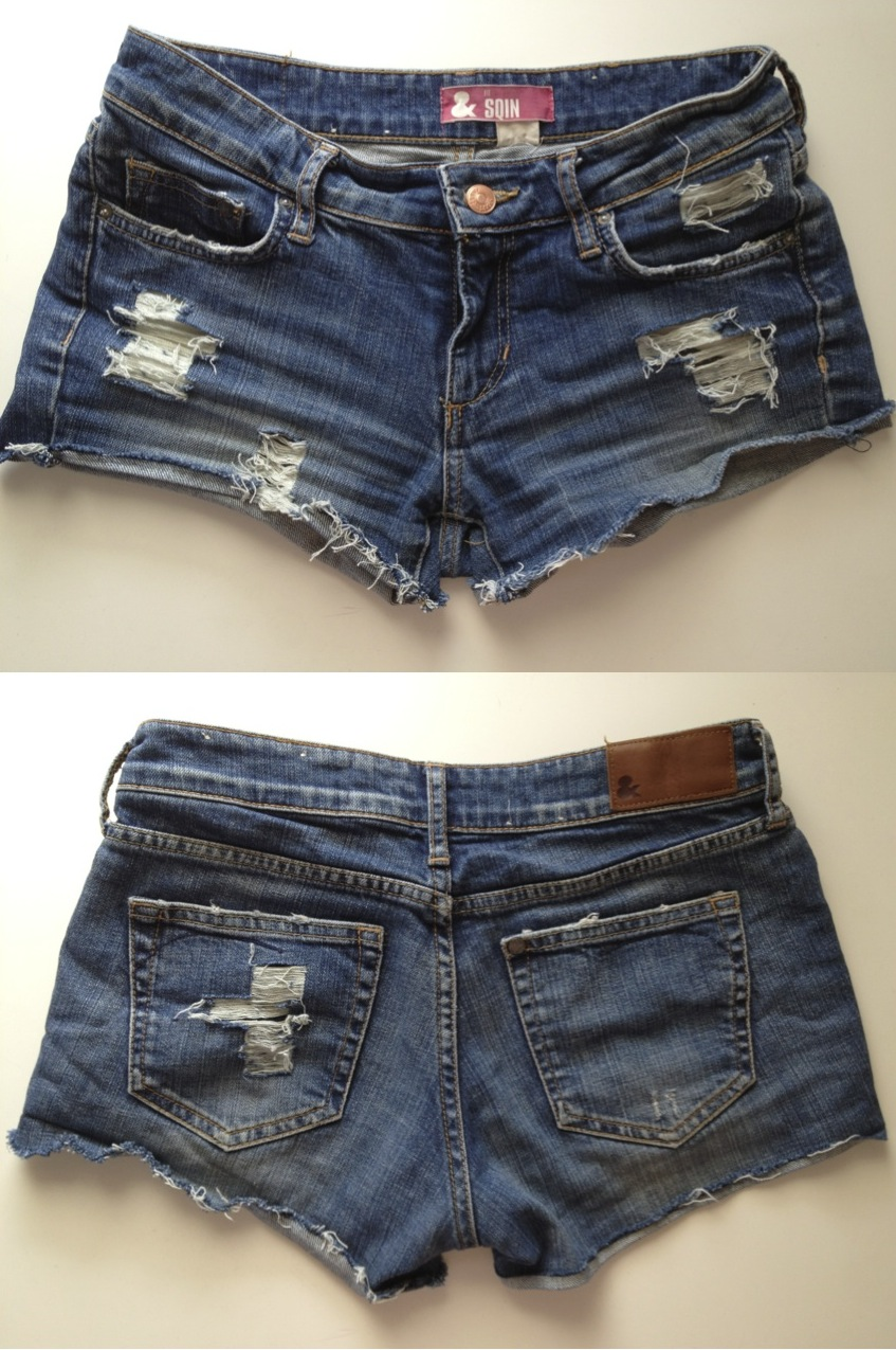 Diy Ripped Jean Shorts - Is Jeans