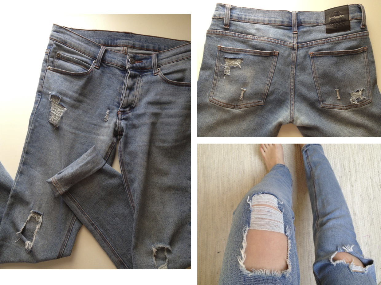 torn jeans | RØRA BLOG